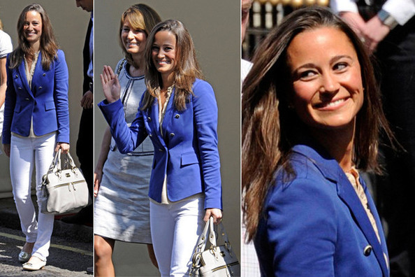 Pippa Middleton Looks Fresh and Nautical After the Royal Wedding