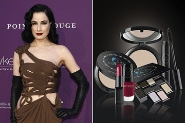 Dita Von Teese's New Makeup Collection Won't Be Available in the States