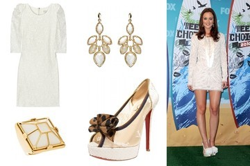 Shop This: Leighton Meester's Red Carpet Style