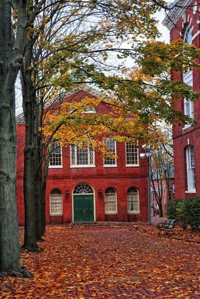 Old Town Hall in Salem, Massachusetts