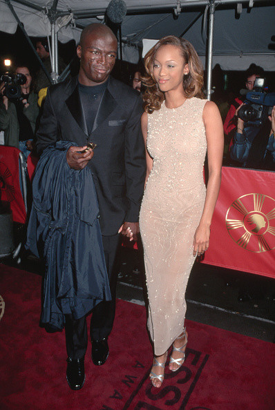 Seal and Tyra Banks