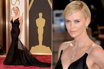 Vote for Charlize Theron for Best Dressed at the Oscars