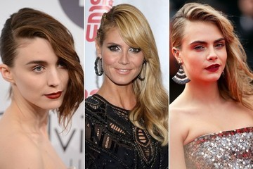 This Hair Trend Sweeps All Red Carpet 'Dos