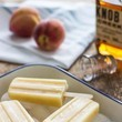 Bourbon White Peach Popsicles
