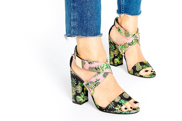 Get Tropical With Pineapple Print