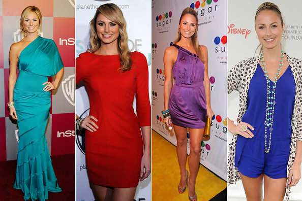 Bright and Bold - Stacy Keibler's Colorful Style