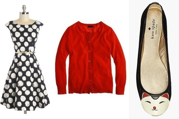 Retro Workday Wear for Zooey Deschanel on 'New Girl'