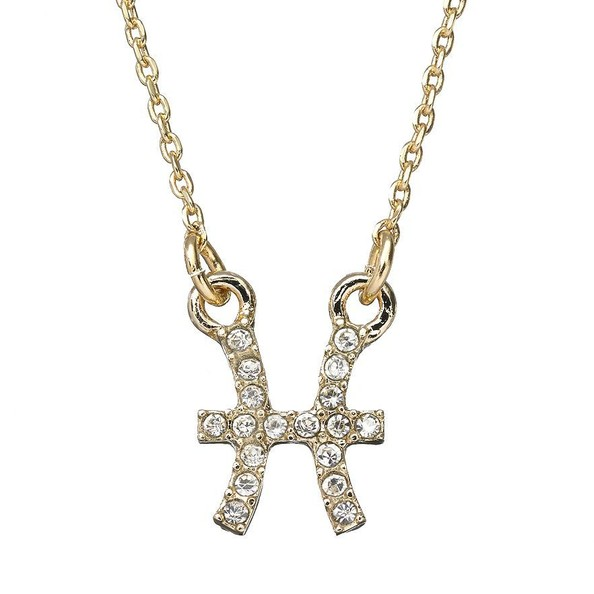 Pisces Crystal Necklace