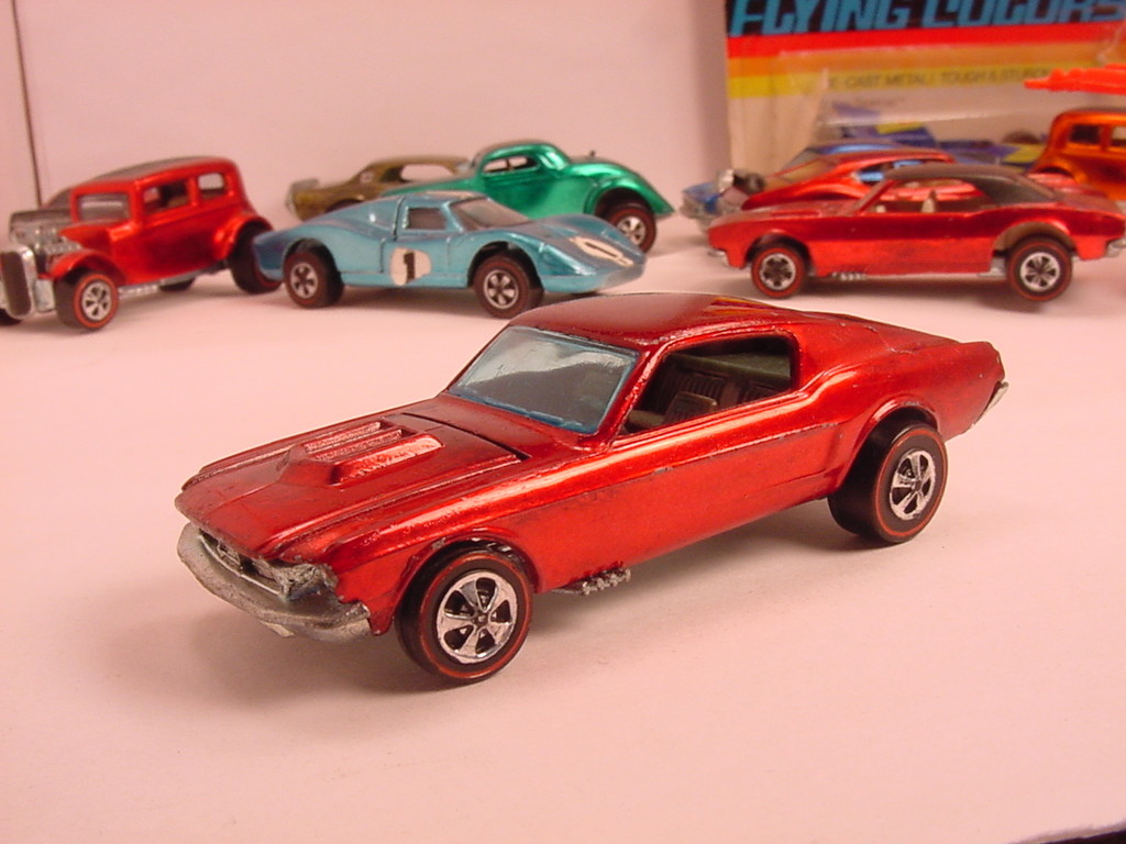 Mustang Dorado >> 1968: Hot Wheels - The Most Popular Christmas Toy from the Year You Were Born - Livingly