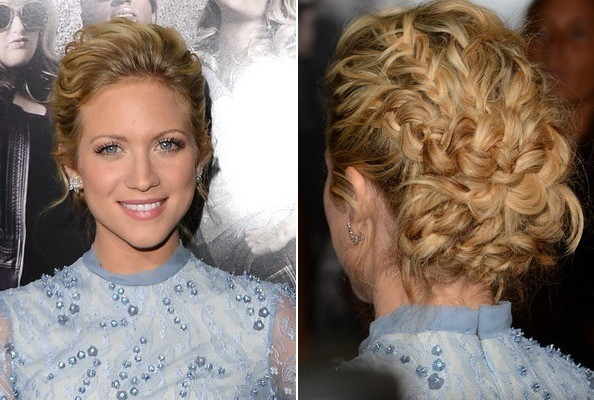 Brittany Snow's Intricate Updo