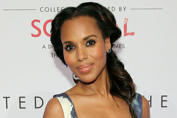 Hair Envy: Kerry Washington's Rolled Fishtail Braid