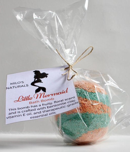 Little Mermaid Bath Bomb