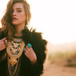 Faux Fur and Ornate Accessories