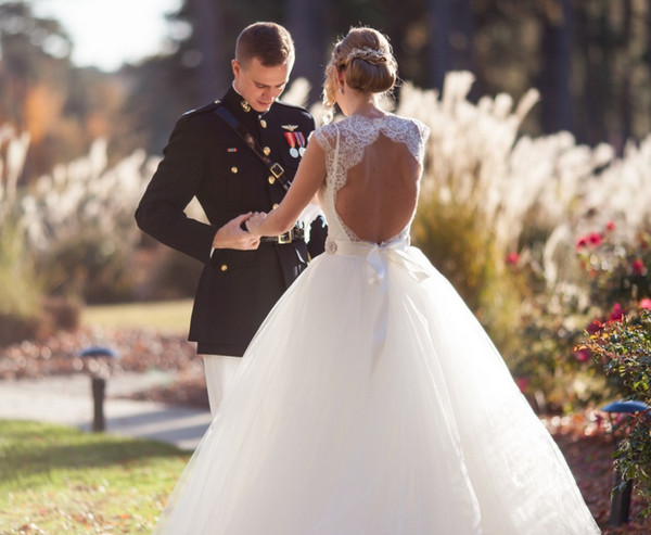The Dreamiest Wedding Dresses with Keyholes on Pinterest - Livingly