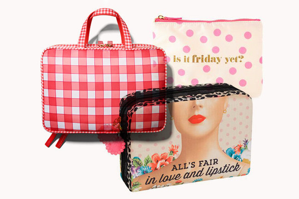 Cute Cosmetic Bags to Store All Your Beauty Necessities