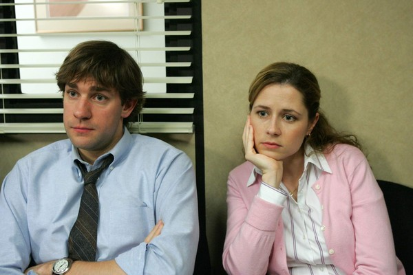 Jim and Pam from 'The Office'