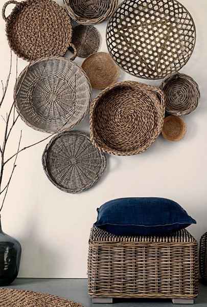 Clustered Wall Baskets