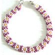 Beaded Daisy Chain Bracelets
