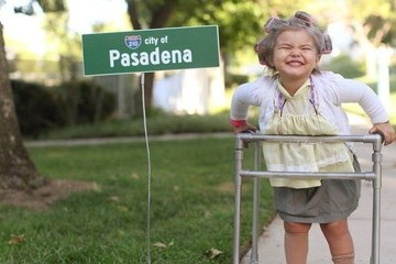 This Little Girl Dresses Up for Halloween All Month And It's Amazing