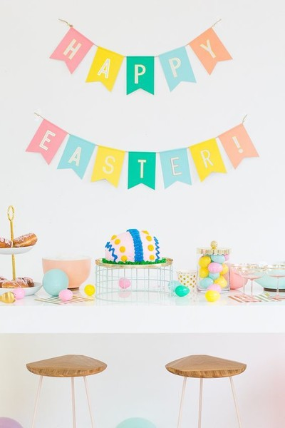 """Happy Easter"" Bunting"
