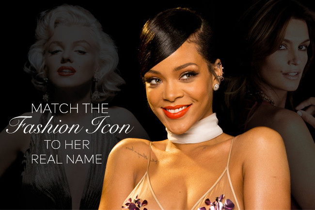 Can You Match The Fashion Icon With Her Real Name Trivia Quiz Livingly