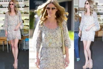 Why It Works: Nicky Hilton's LA Shopping Look