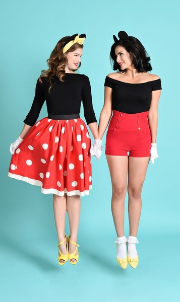 Halloween Friend Costumes.Mickey And Minnie Creative Halloween Costume Ideas For You