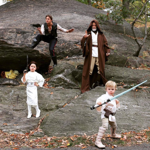 Neil Patrick Harris & family