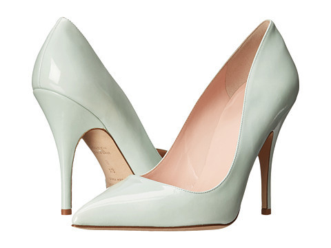 Fresh Mint Patent Pumps