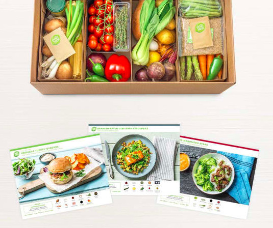 Sign-Up For A Meal Box Service
