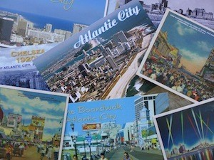 One of These AC Postcards is Wonky