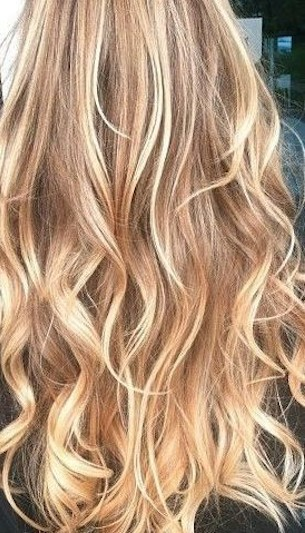Buttery Blonde Balayage 20 Beautiful Winter Hair Color