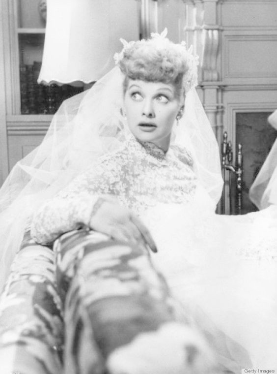 Image gallery lucille ball wedding dress for Lucille ball wedding dress