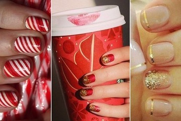 Holiday Nail Art Ideas to Add to Your Pinterest Board ASAP