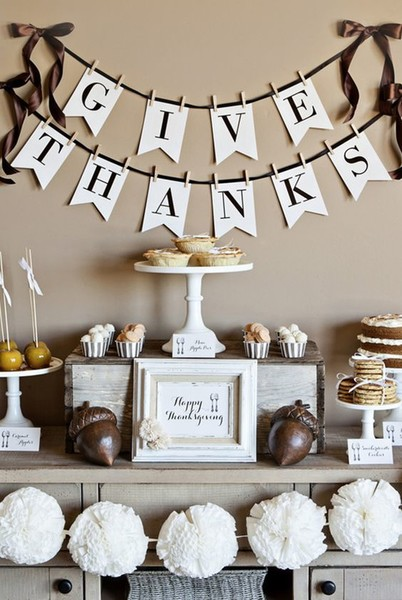 Create a Thanksgiving altar