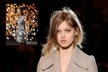 Lindsey Wixson Is the Face of Alexander McQueen Spring 2011
