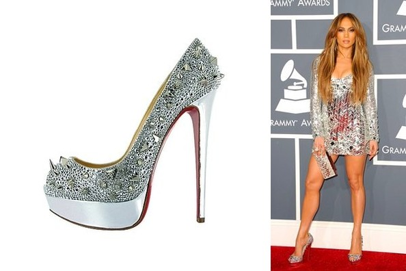 Star Studded: Jennifer Lopez Mixes it Up in Louboutin Pumps - Shoe ...