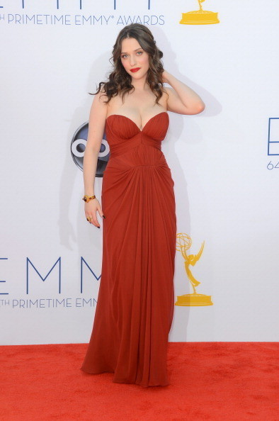 Kat Dennings 2012 Emmy Awards