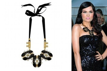Jessie J Looks Wowie in Her Mawi Necklace