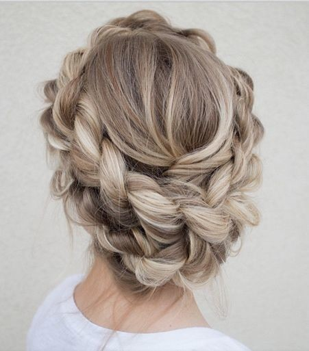 Intricate Wraparound Braided Crown