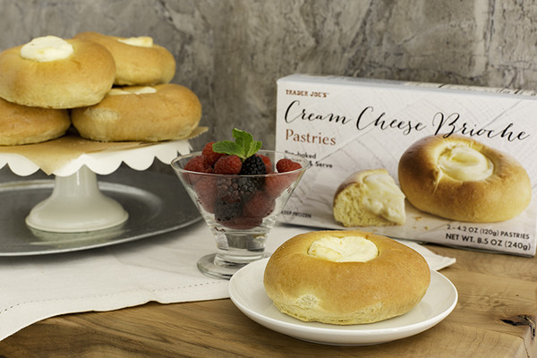 #4: Cream Cheese Brioche