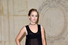 Look of the Day: Jennifer Lawrence's Parisian Style
