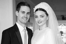 See Miranda Kerr's Stunning Wedding Dress