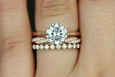 The Most Popular Engagement + Wedding Ring Stacks on Pinterest