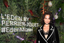 Look of the Day: Shanina Shaik's Edgy Ensemble