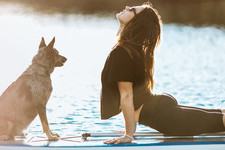 Pictures That Prove Pets Make The Absolute Best Yoga Partners