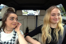 Maisie Williams and Sophie Turner Just Gave Us the Best Ned Stark Impersonation