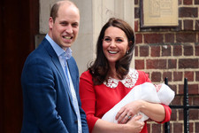William And Kate Debut Their Baby Boy To The World