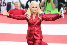 Lady Gaga Rocks National Anthem Performance at Super Bowl