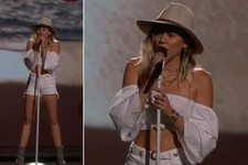 Miley Cyrus Is Brought to Tears While Performing New Song 'Malibu' at 2017 Billboard Music Awards